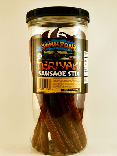 Teriyaki Sausage Sticks